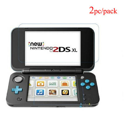 Protection Tempered Glass Sets For Nintend Switch 2DS XL 2DS LL 2DSXL