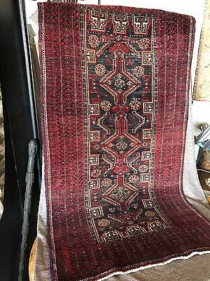 Old Turkish Pure Wool Handmade Rug …beautiful Anatolian collection & accent...