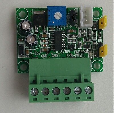 Analog Input Voltage to PWM Signal Converter Module PLC AD 5 or 10 V input