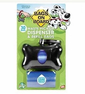 Bags on Board ~ Waste Pick-up Dispenser & Refill Bags