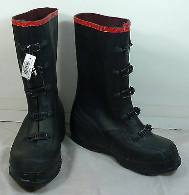 New Never Used Servus by Honeywell T369 Waterproof Rubber Boots, Size 10, NICE