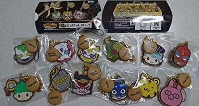 Ichiban Kuji TIGER & BUNNY The Rising G prize cookies strap all 12 set BANPRESTO