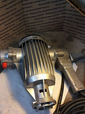 Lutz Pump Inc. Portable, Pump Motor, New Old Stock