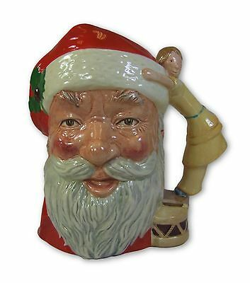 Royal Doulton - Santa Claus - Large Character Jug - D6668 - Made in England.
