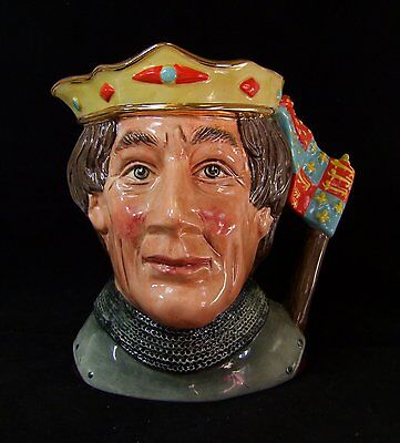 Royal Doulton Henry V Large Character Jug - D6671 - Made in England!