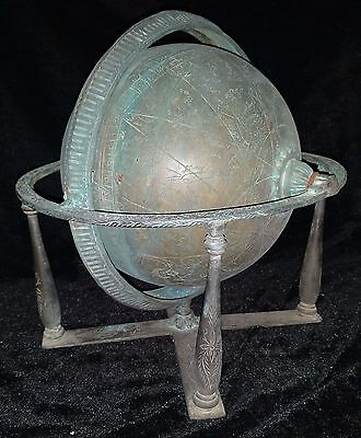 Ottoman Antique Persian Globe - Astronomical / Astrological Instrument