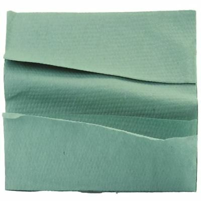 1 Ply Green C-Fold Hand Towels (Pack of 2850) WX43094 [WX43094]