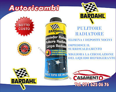 Additivo Pulitore Radiatore Bardahl