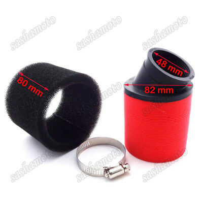 48mm Air Filter For Pit Dirt Bike Moped Scooter ATV Quad Motorcycle Motocross
