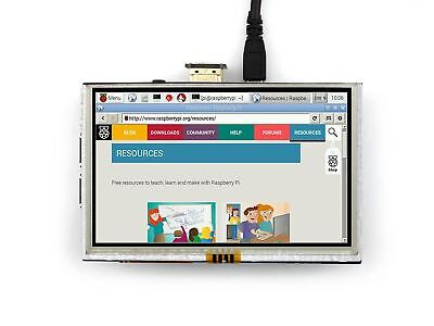 5 Inch LCD 800x480 HDMI Touch Screen Display for Raspberry Pi with Pen