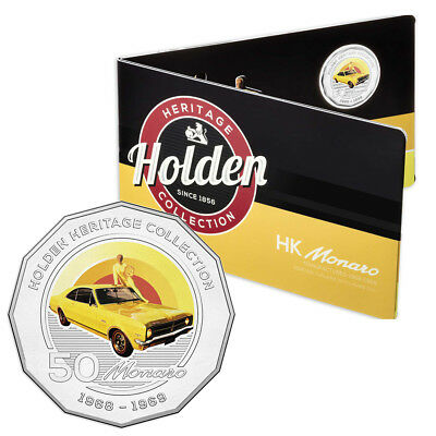 NEW RA Mint Holden Heritage HK Monaro 50 Cent Coin Pack