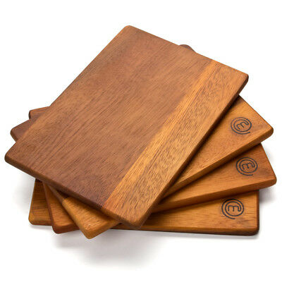 NEW MasterChef Acacia Serving Board Set 4pce