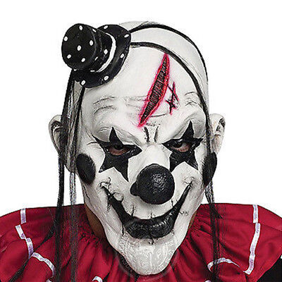 Halloween Adult Cosplay Horror Clown Party Latex Mask Costume Full Face Masks AU