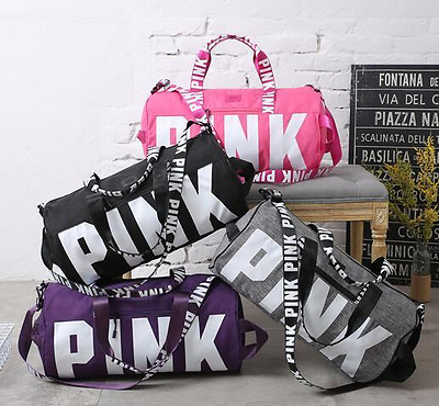 "Victoria's Secret ""Pink"" - TOP SELLING Duffel Gym Bag VS PINK - HOLIDAY GIFT!"
