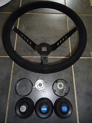 MK 1 / 2 AVO Springalex Style Steering Wheel + Boss Escort RS1800 Works Rally