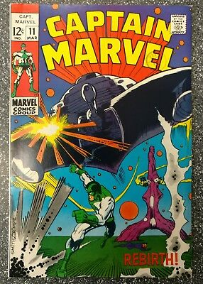 Captain Marvel #11 (Vol.1) VF+