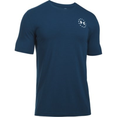 Under Armour 1299257997LG Men's Navy Freedom Flag T-Shirt Large