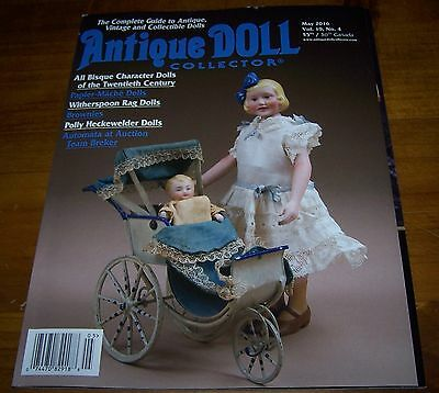 Antique Doll Collector May 2016 - As New