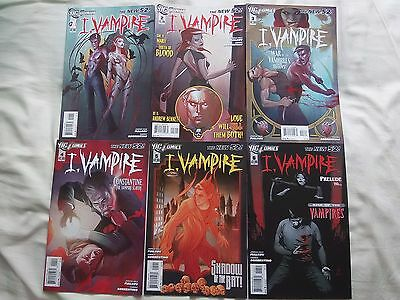 I VAMPIRE 1-12 DC set run lot series