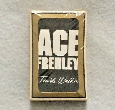 """Ace Frehley (Kiss) """"Trouble Walkin'"""" Promo Playing Card Deck Sealed"""