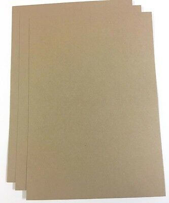 50 x 225gsm A4 Brown Kraft Paper-Brown Recycled Craft Paper- Brown Eco Card