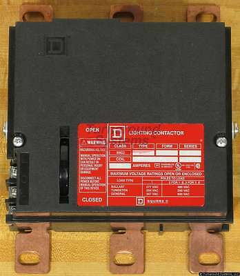 Square D 8903PBR11BV02 Panelboard Lighting Contactor, 150 Amp, 120VAC Coil, NEW!
