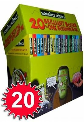 Horrible Science Collection 20 Bulging Books Box Set Childrens Kids Gift Bookset