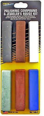Enkay 149-C 6 pc. Polishing Compound Kit, carded