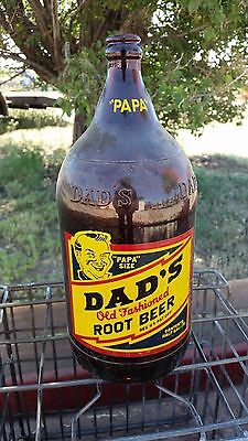 DADS Root Beer 1/2 Gallon FULL Bottle