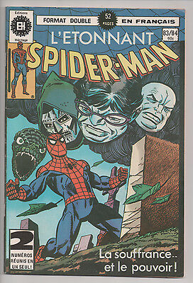 SPIDER-MAN #83/84 french comic français EDITIONS HERITAGE