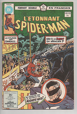 SPIDER-MAN #119/120 french comic français EDITIONS HERITAGE