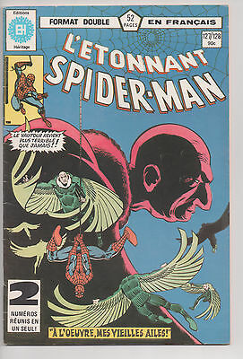 SPIDER-MAN #127/128 french comic français EDITIONS HERITAGE