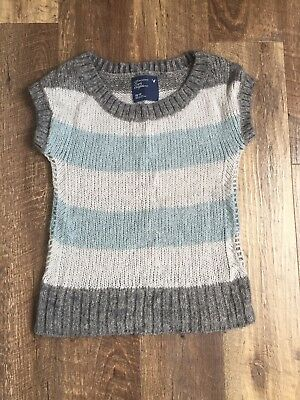 American Eagle Outfitters Womens Sweater Vest Xs Wool Mohair Blend