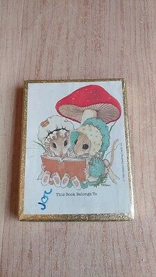 Antioch Bookplate Company - This Book Belongs To - 26 Bookplates ---- Mouse Mice