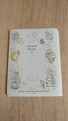 14 Beatrix Potter Bookplates - 1984 --- FREE Shipping