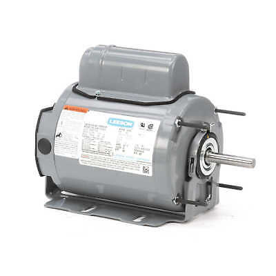 Leeson Electric Motor 100825.00 48Z Frame 1/3 HP 1075 Rpm 1-PH 115/230 Volt
