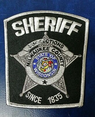 Milwaukee County, Wisconsin Corrections Sheriff Shoulder Patch Missing Letters