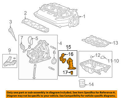 HONDA OEM 12-15 Pilot Engine-Oil Filter Housing 15301RN0A10