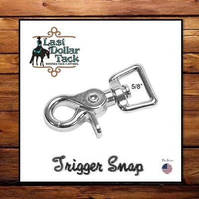 Replacement Trigger/sicssor/alligator Snap For Rope Reins Or Project ~ 5/8""