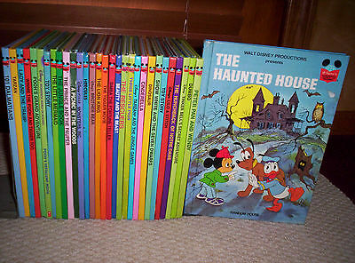 NICE FUN LOT OF 30 DISNEY'S WONDERFUL WORLD OF READING HCs-MONSTERS INC.