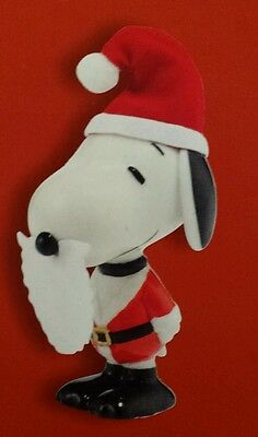 Dept 56 Snoopy Peanuts Santa New Christmas Ornament Tree Charlie Brown