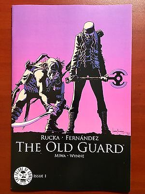 Image 25Th Anniversary The Old Guard #1 Colour Variant ~ Nm/mt (9.8)