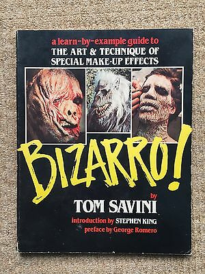 BIZARRO - Tom Savini Art & Technique Of Special Make-Up Effects