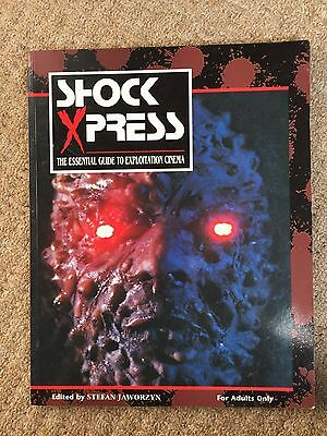Shock Xpress 2 - The Essential Guide to Exploitation Cinema - Rare and OOP
