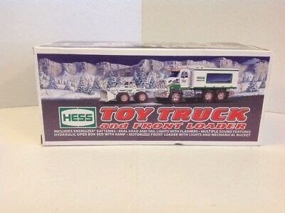 Nib 2008 Hess Toy Truck And Front Loader