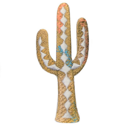 Cactus Applique Patch Iron on 2.75X 3.25 inches