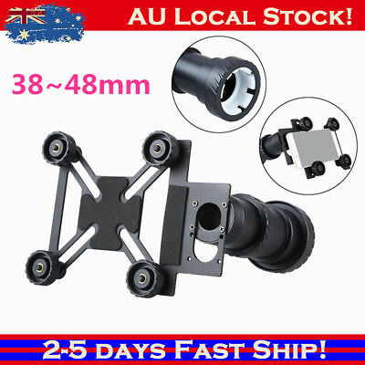 W000784 Black Phone Mount Adapter Spotting Scope Holder For Telescope Sydney!