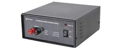 MERCURY (UK version) Switch-mode 15A 13.8V bench top power supply NEW
