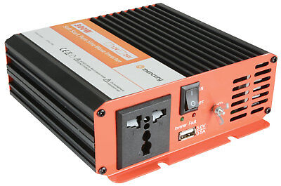 MERCURY 12Vdc Pure Sine Wave Inverter 300W NEW