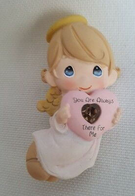"""Authentic Precious Moments Angel """"You are Always There For Me"""" Pin"""